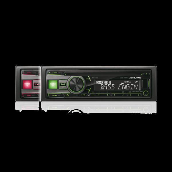 Alpine CDE190R CD/TUNER MED USB