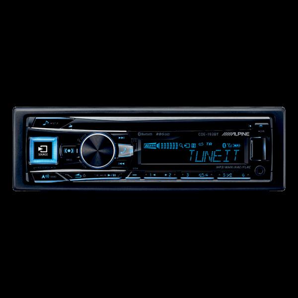 Alpine CDE193BT CD/TUNER MED USB & IPOD BLUETOOTH