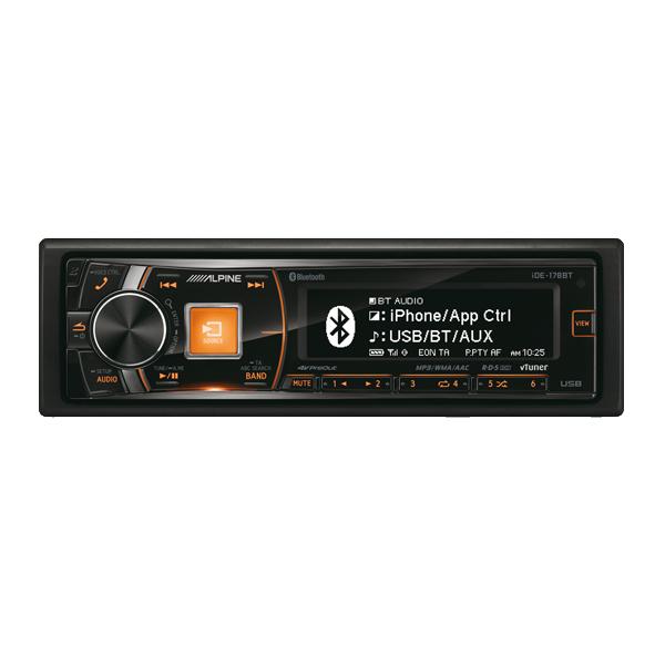 Alpine IDE178BTTUNER/IPOD AFSPILLER BT 3  OUT