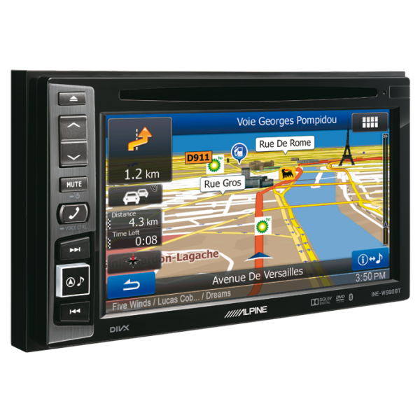 Alpine INEW990BT 2DIN MULTIMEDIA STATION MED NAVI