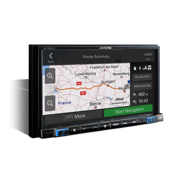 Alpine INEW997DC 2DIN MULTIMEDIA STATION MED NAVI