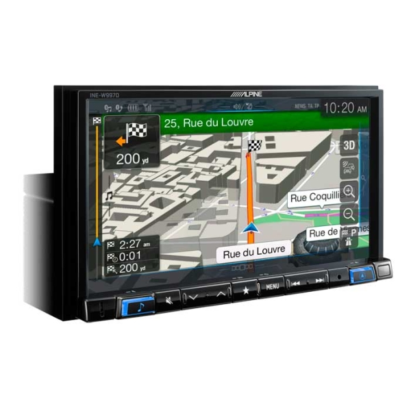 Alpine INEW997D 2DIN MULTIMEDIA STATION MED NAVI