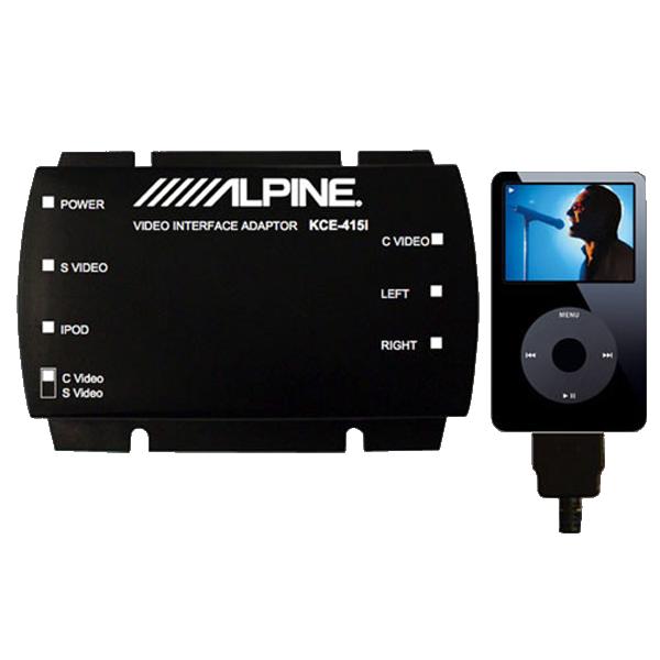 Alpine KCE415I I-POD VIDEO INTERFACE