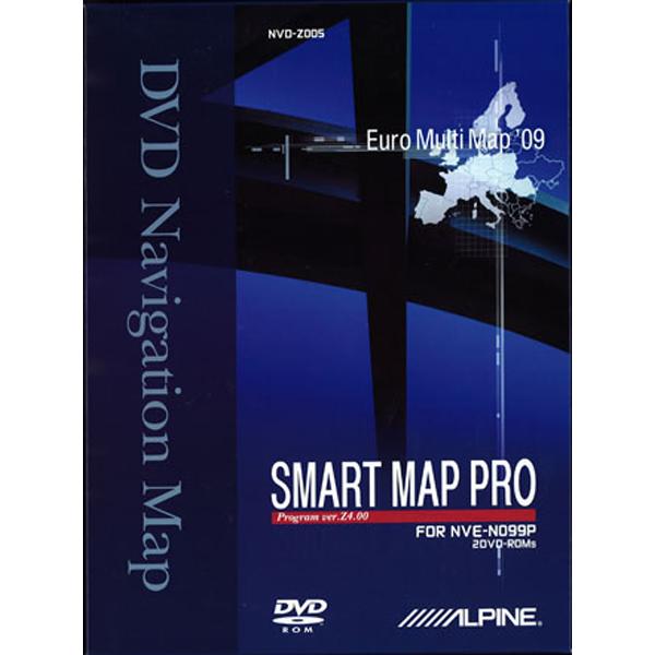 Alpine NVDZ005 DVD MED 2009 KORT TIL