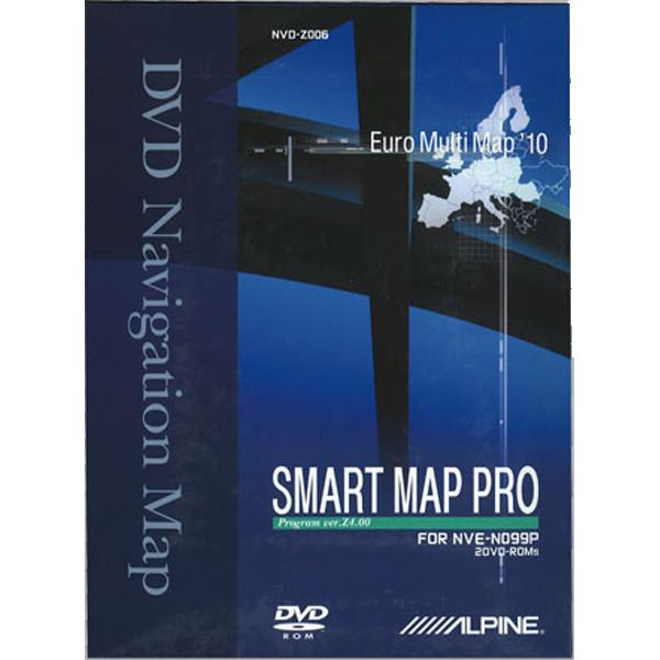 Alpine NVDZ006 DVD MED 2010 KORT TIL NVEN099P