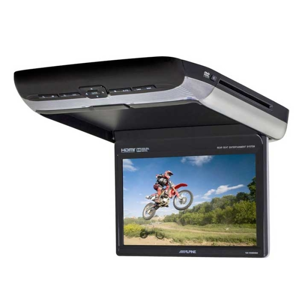 "Alpine PKGRSE3HDMI 10,1"" LOFTSKÆRM MED DVD & HDMI"