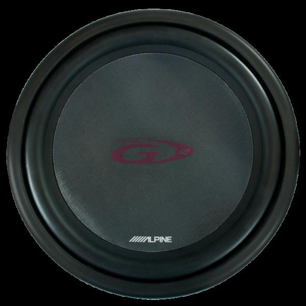 """Alpine SWG1244 12"""" SUBWOOFER G-SERIE"""