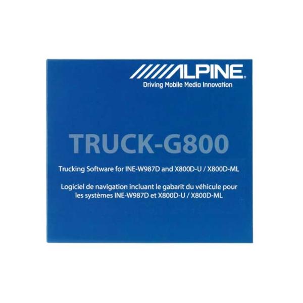 Alpine TRUCK-G800 TRUCK KORT TIL INEW987D/X800