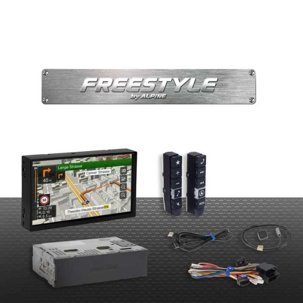 """Alpine X701DF FREESTYLE 7"""""""