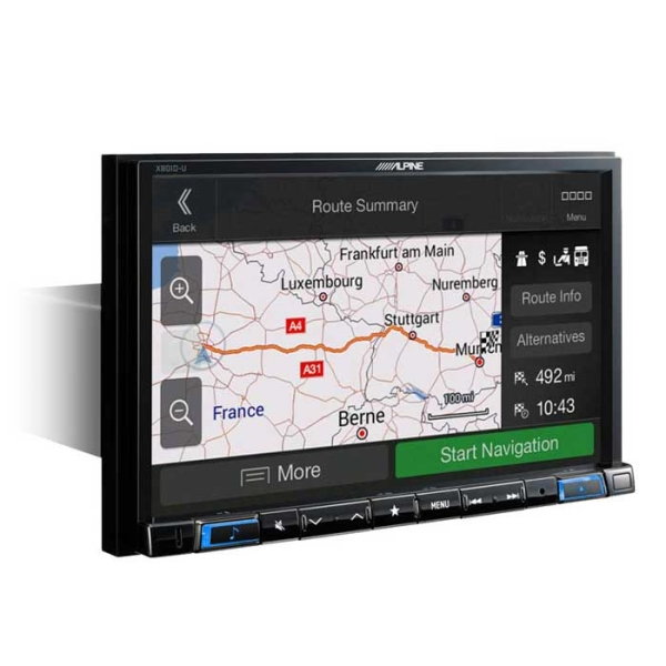 "Alpine X801DCU 2DIN 8"" MULTIMEDIA STATION U.DREV"