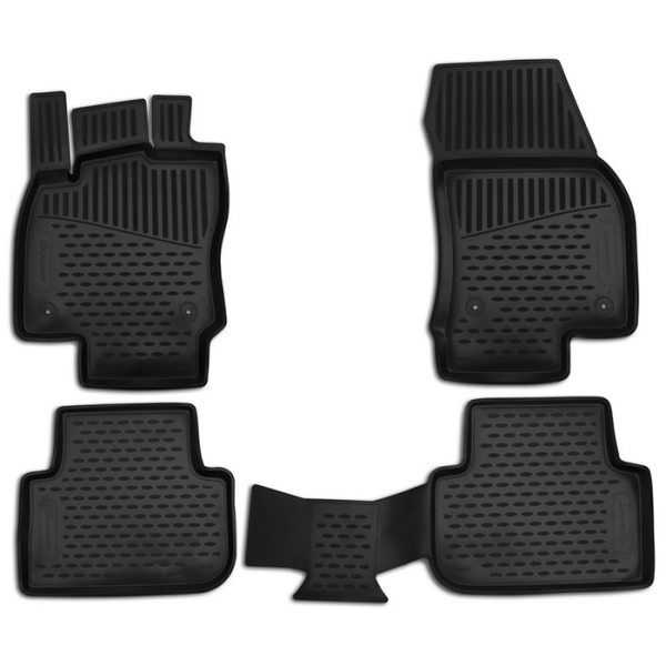 Gummimåttesæt SEAT LEON ST 2014->