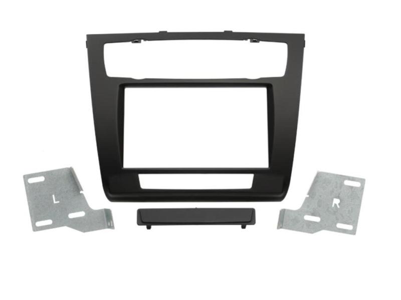 2-DIN monteringskit for BMW 1-serie E81, E82, E87, E88 07-13