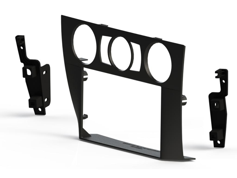 2-DIN monteringskit for BMW 3-serie E90 med air condition, s