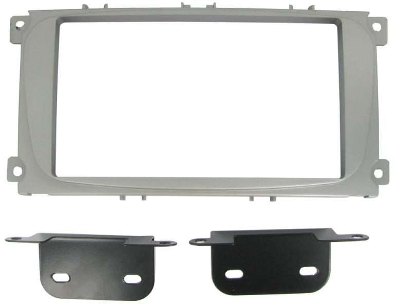 2-DIN monteringskit til diverse Ford med firkantet OE radio,