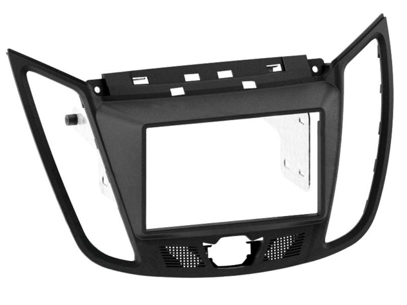 2-DIN monteringskit til Ford C-Max 2011-, mørkegrå.