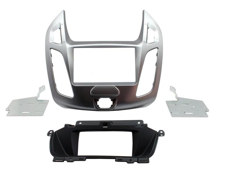 2-DIN monteringskit til Ford  Connect 2014-, sølv. Modeller