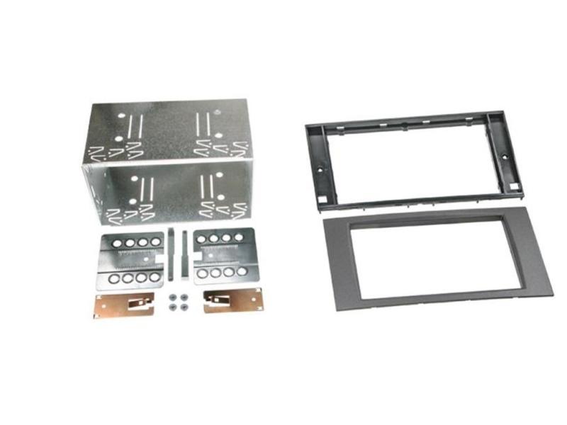 2-DIN antracit monteringskit til diverse Ford