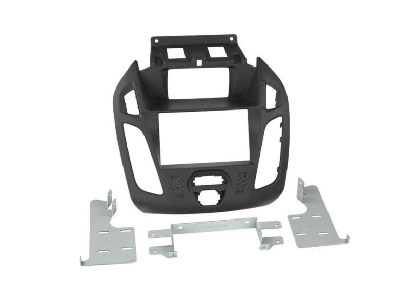 2-DIN monteringssæt til Ford Transit Connect 2013-, sort.