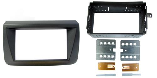 2-DIN monteringskit til Fiat Croma 2005-2011, sort.