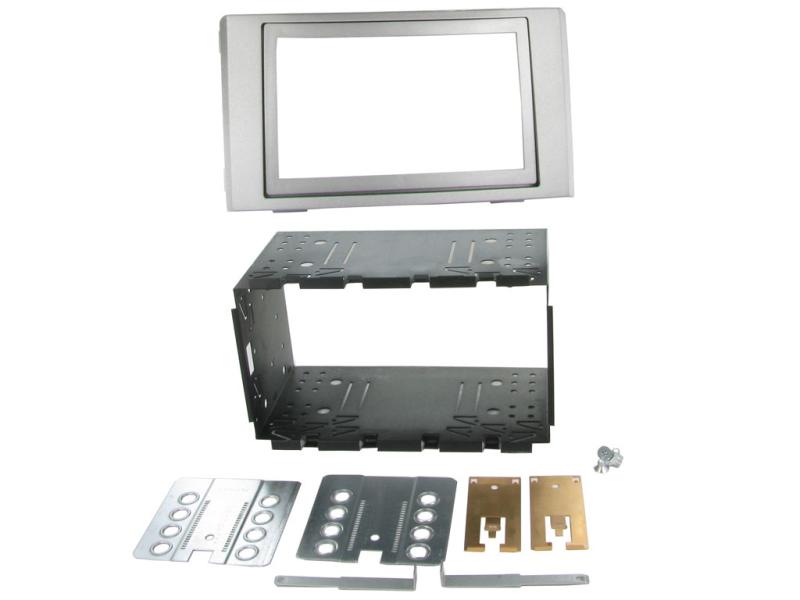 2-DIN monteringskit til Iveco Daily 2009-2012, Sølv.