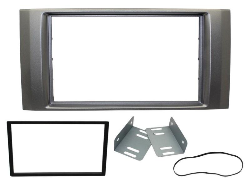 2-DIN kit til Isuzu D-Max 2008-2012, antracit.