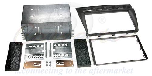 2-DIN monteringskit til Kia Picanto 2005-2008, sort.