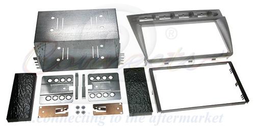 2-DIN monteringskit til Kia Picanto 2005-2008, sølv.