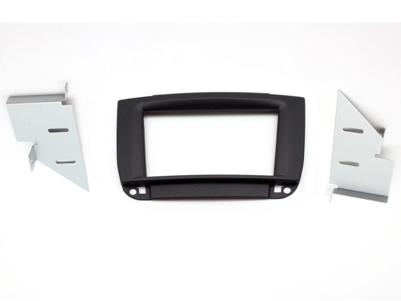 2-DIN monteringskit til Mercedes CL500 W215 98-05, sort soft