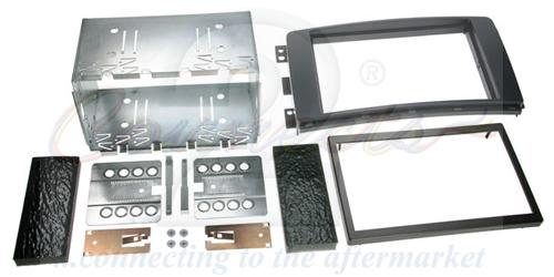 2-DIN monteringskit til Smart ForTwo og Smart ForFour , sort