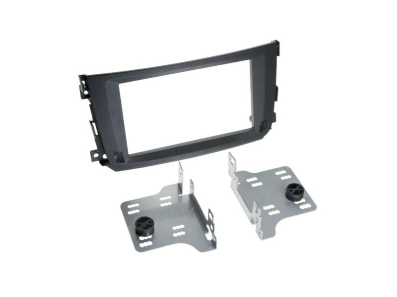 2-DIN monteringssæt til Smart FourTwo 2010-2014.