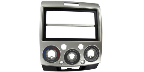 2-DIN monteringskit til Mazda BT-50 2007-2012, sølv.