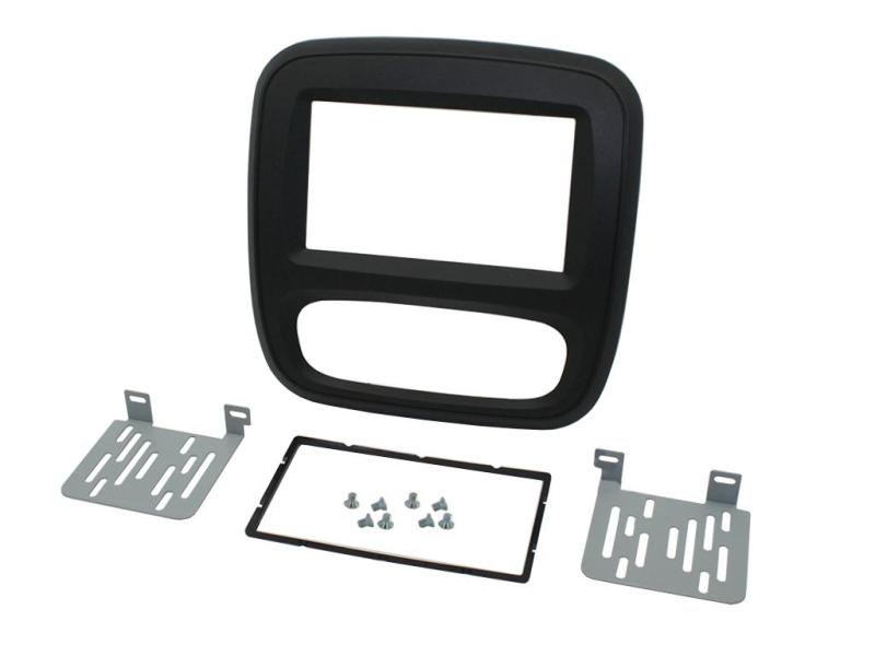 2-DIN kit til Nissan NV300 2016-, sort.
