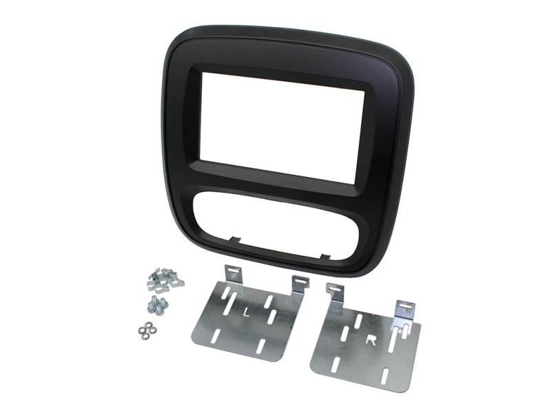 2-DIN kit til ny Opel Vivaro 2015-, sort.