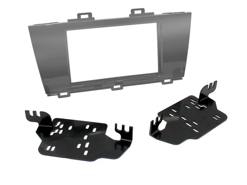 2-DIN kit til Subaru Legacy 2015- og Outback 2015- i sølv ud