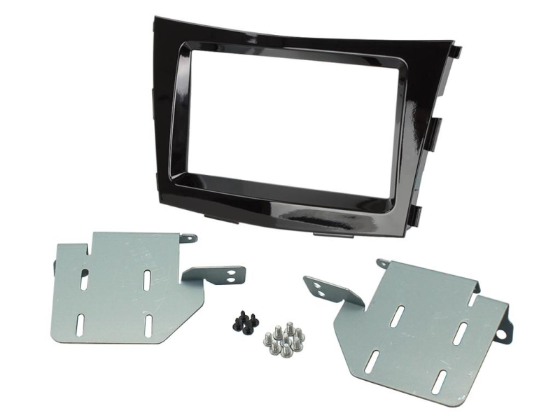 2-DIN kit til SsangYong Tivoli 2015-, pianosort-