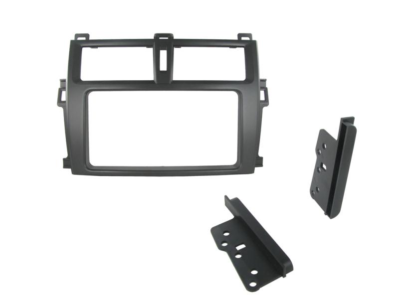 2-DIN monteringskit til Toyota Verso 2011-2013, sort.