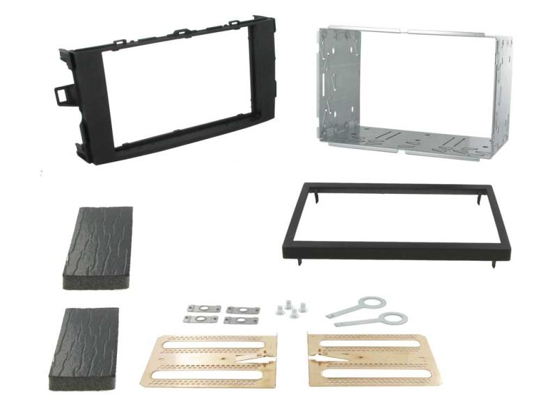 2-DIN monteringskit til Toyota Auris E150 2007-2012, metalgr