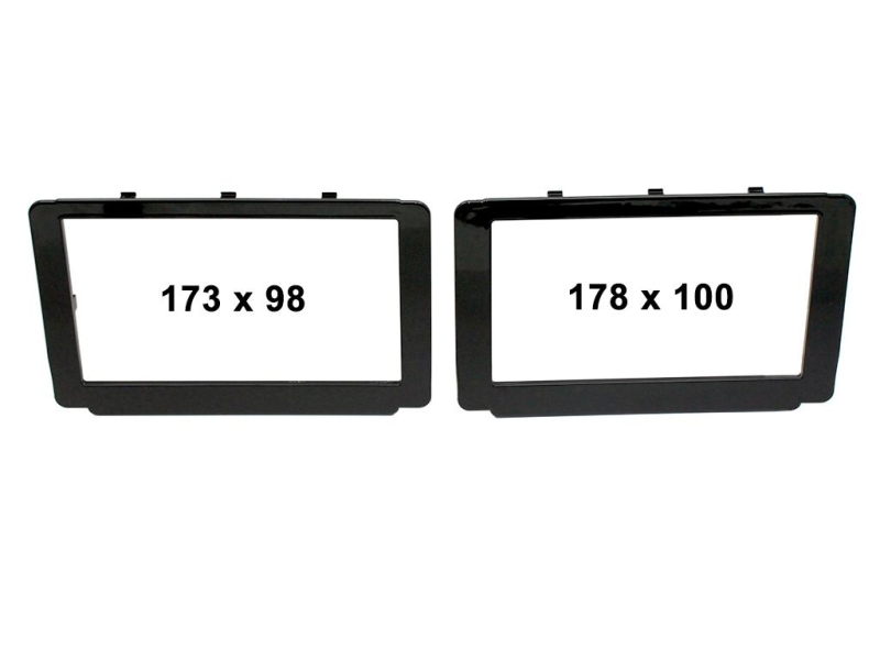 2-DIN kit til Toyota Hi-Lux 2015-.