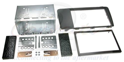 2-DIN monteringskit til diverse Volvo modeller u. telefonpan