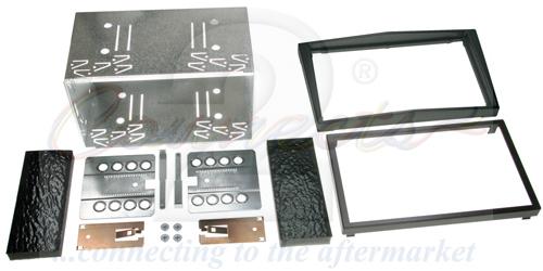 2-DIN monteringskit til diverse Opel modeller, sort.