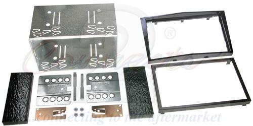 2-DIN monteringskit til diverse Opel modeller, Pianosort.