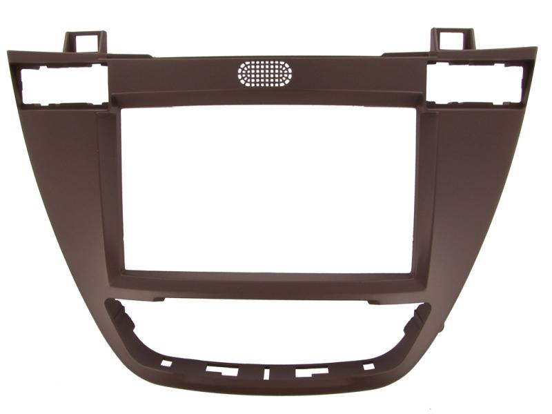 2-DIN monteringskit til Opel Insignia 2008-2014, Kakaobrun.