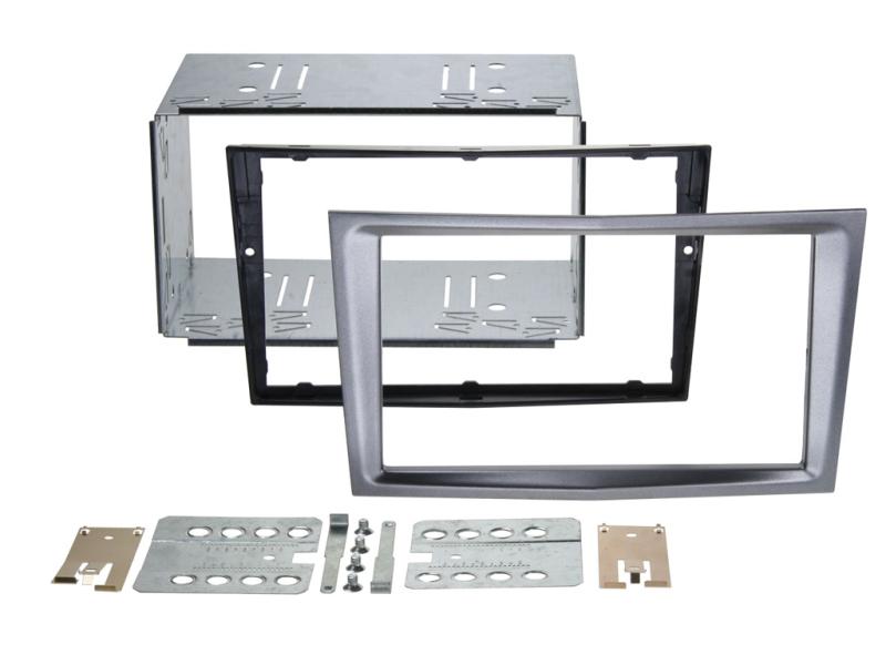 2-DIN monteringskit Perfect fit, Charcoal metallic, til dive