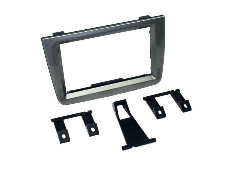 2-DIN kit til Alfa Mito 2008--2012 glossy Titanium.