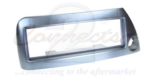 1-DIN ramme til Ford Ka 1996-2008, Blå, Med hul til cigartæn