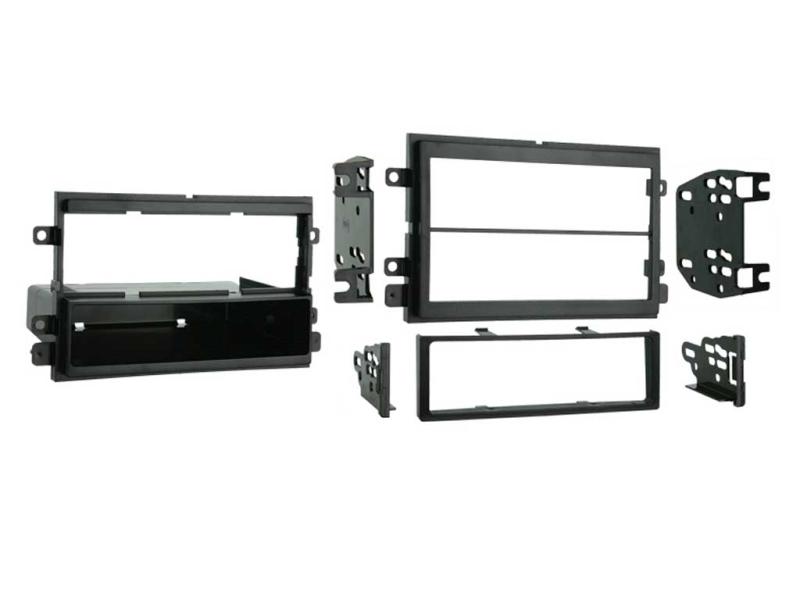 1-DIN og 2-DIN ramme til diverse Ford US modeller.