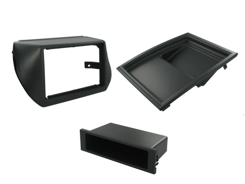1-DIN og 2-DIN ramme til Fiat Qubo 2009-