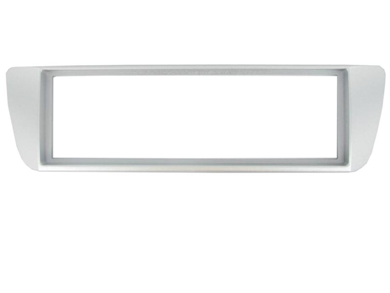1-DIN ramme til Mitsubishi Lancer -2004, sølv.