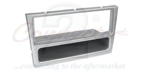 1-DIN ramme til Opel Signum, Opel Vectra, chrome metallic
