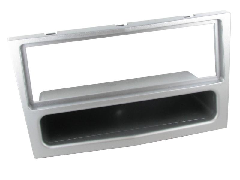 1-DIN ramme til Opel Zafira 2005-2014, sølv.